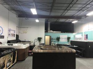 Hot Tub Showroom