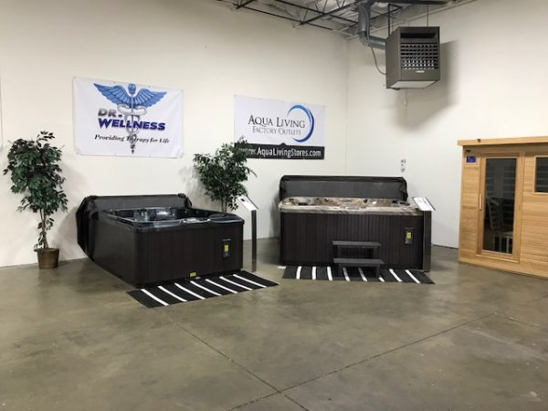 Hot Tub Showroom