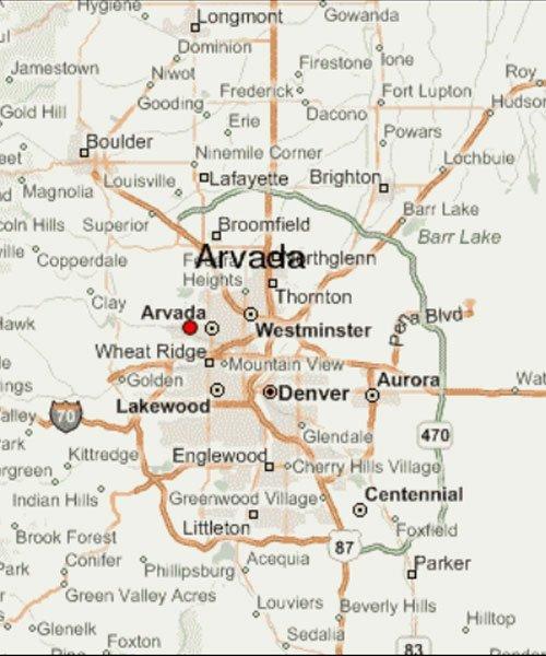 Arvada Colorado Map Arvada Colorado   Aqua Living Factory Outlets