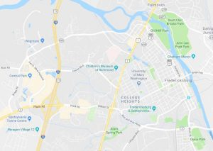 Fredericksburg Map