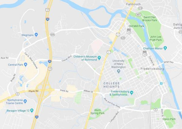 Fredericksburg Virginia Map.Fredericksburg Va Hot Tubs Spas Saunas Aqua Living Factory