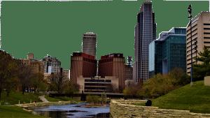 Omaha City Skyline