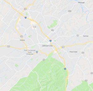 Johnson City Map