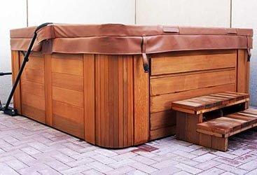 Brand name hot tub