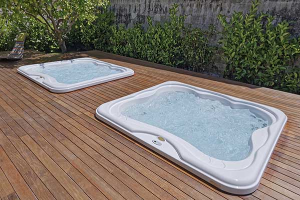 Different hot tub sizes