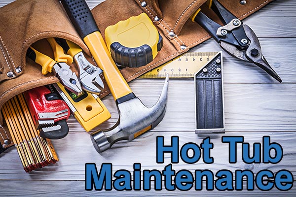 Hot Tub Maintenance tools