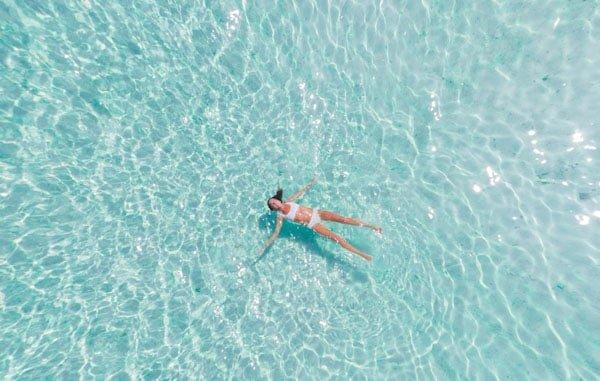 swimming bikini