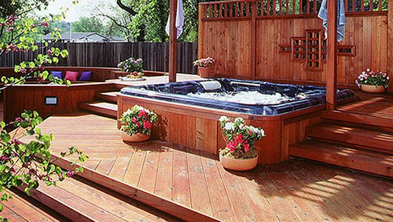 Redwood Hot Tub