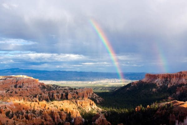 Utah hot tub Rainbow