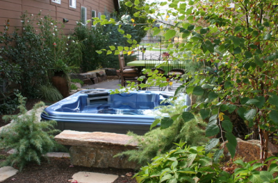 idaho garden hot tub