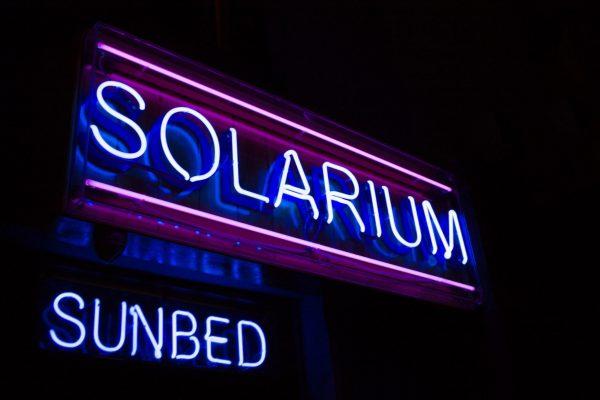 solarium sunbed