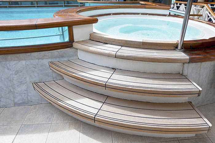 Hot Tub stairs