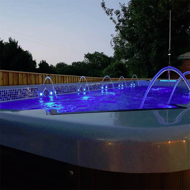 Hot tub underglow