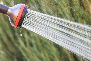 Garden hose faucet