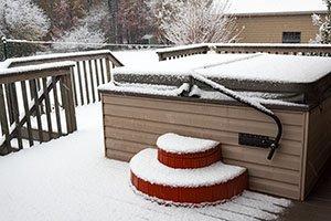 Winterized Hot Tub